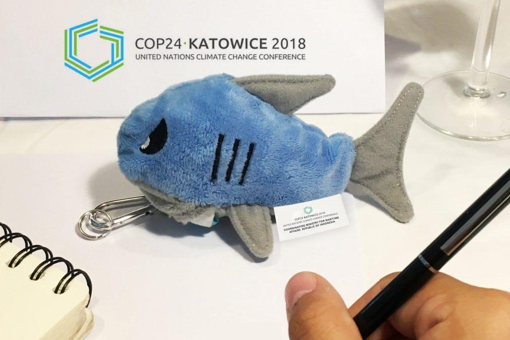 Tasini Shark at COP24